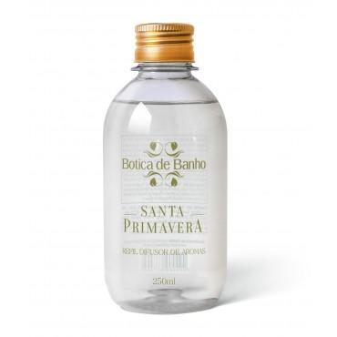 Refil Difusor de Aromas para Ambiente Santa Primavera Botica de Banho 250 ml
