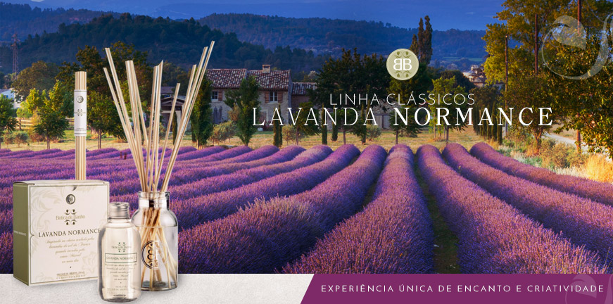 Difusor de Aromas Lavanda Normance - Botica de Banho
