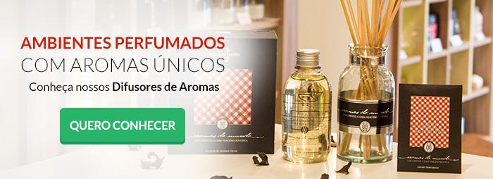 difusor de aromas com varetas botica de banho
