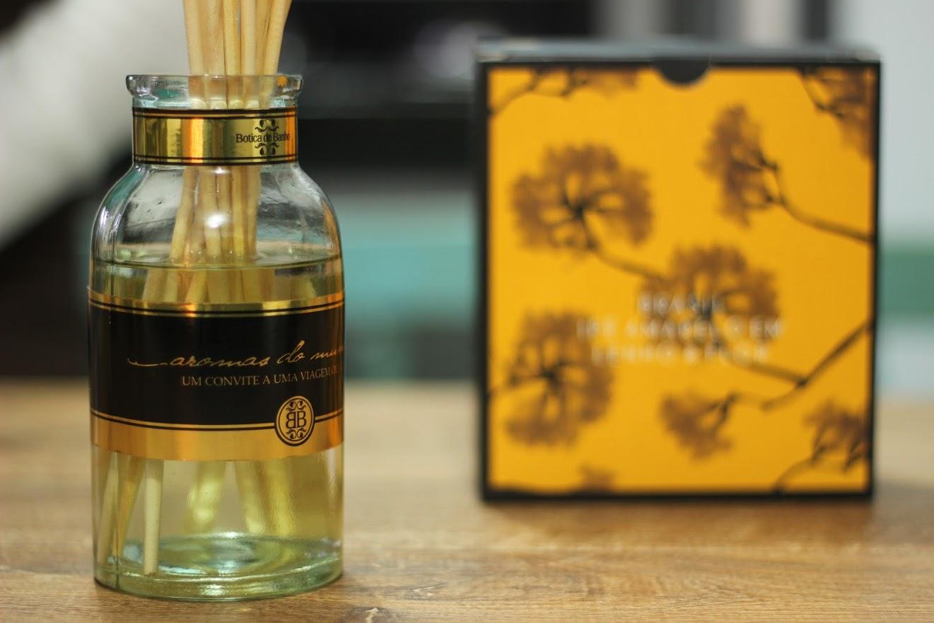como usar o difusor de aromas com varetas