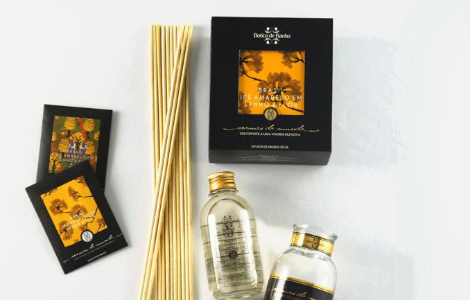Difusor de aromas perfume presentes fragrâncias
