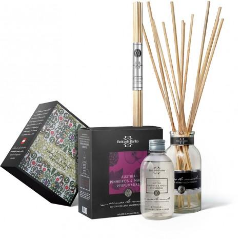 Kit Difusor de Aromas para ambiente Áustria Botica de Banho 250 ml