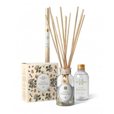 Kit Difusor de Aromas para ambiente Santa Primavera Botica de Banho 250 ml