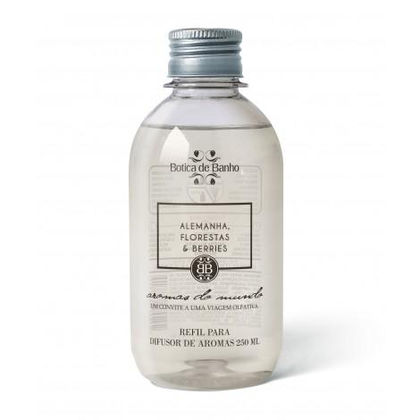 Refil Difusor de Aromas para Ambiente Alemanha Botica de Banho 250 ml
