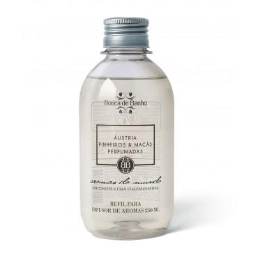 Refil Difusor de Aromas para Ambiente Áustria Botica de Banho 250 ml