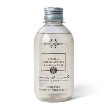 Refil Difusor de Aromas para Ambiente Espanha Botica de Banho 250 ml