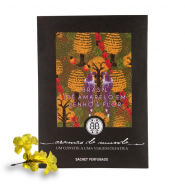 Sachet Perfumado Aromas do Mundo Brasil - Araras
