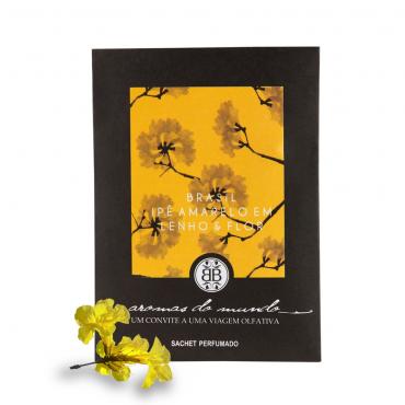 Sachet Perfumado Aromas do Mundo Brasil - Ipê